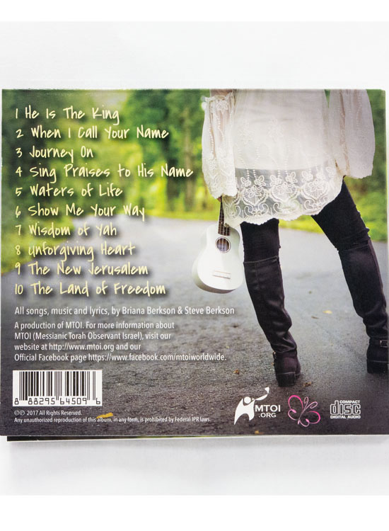 Briana Berkson CD - Journey On